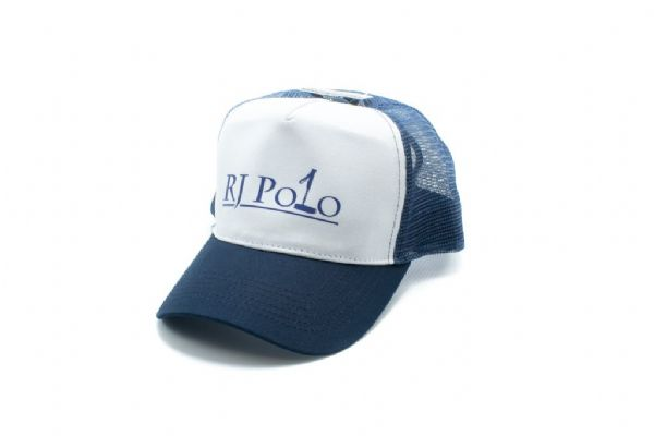 Trucker Cap with RJ Polo logo in Navy